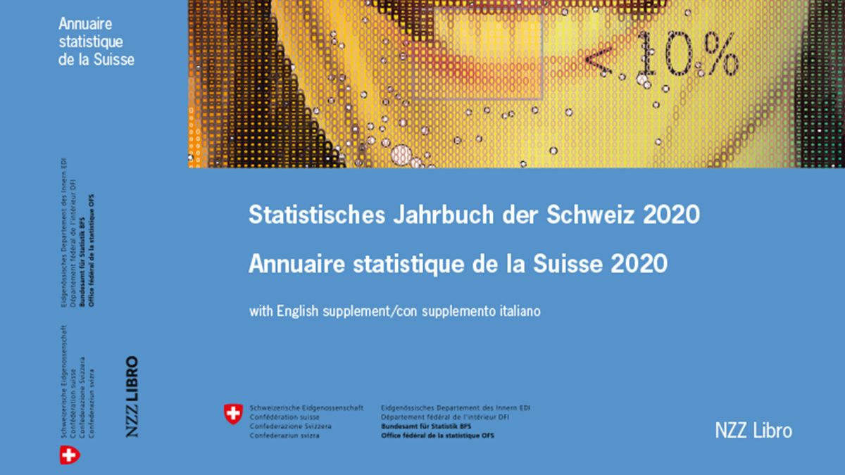 L'Annuaire statistique de la Suisse – Édition 2020