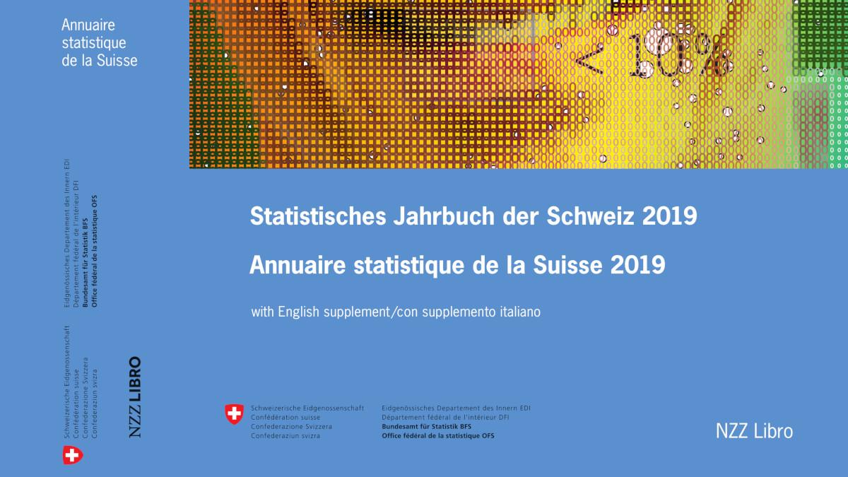 L'Annuaire statistique de la Suisse – Édition 2019