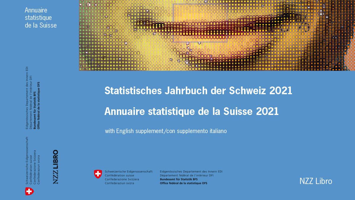 L'Annuaire statistique de la Suisse – Édition 2021